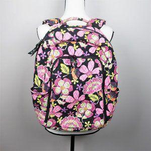 Vera Bradley Retired Moon Blooms Pattern Backpack